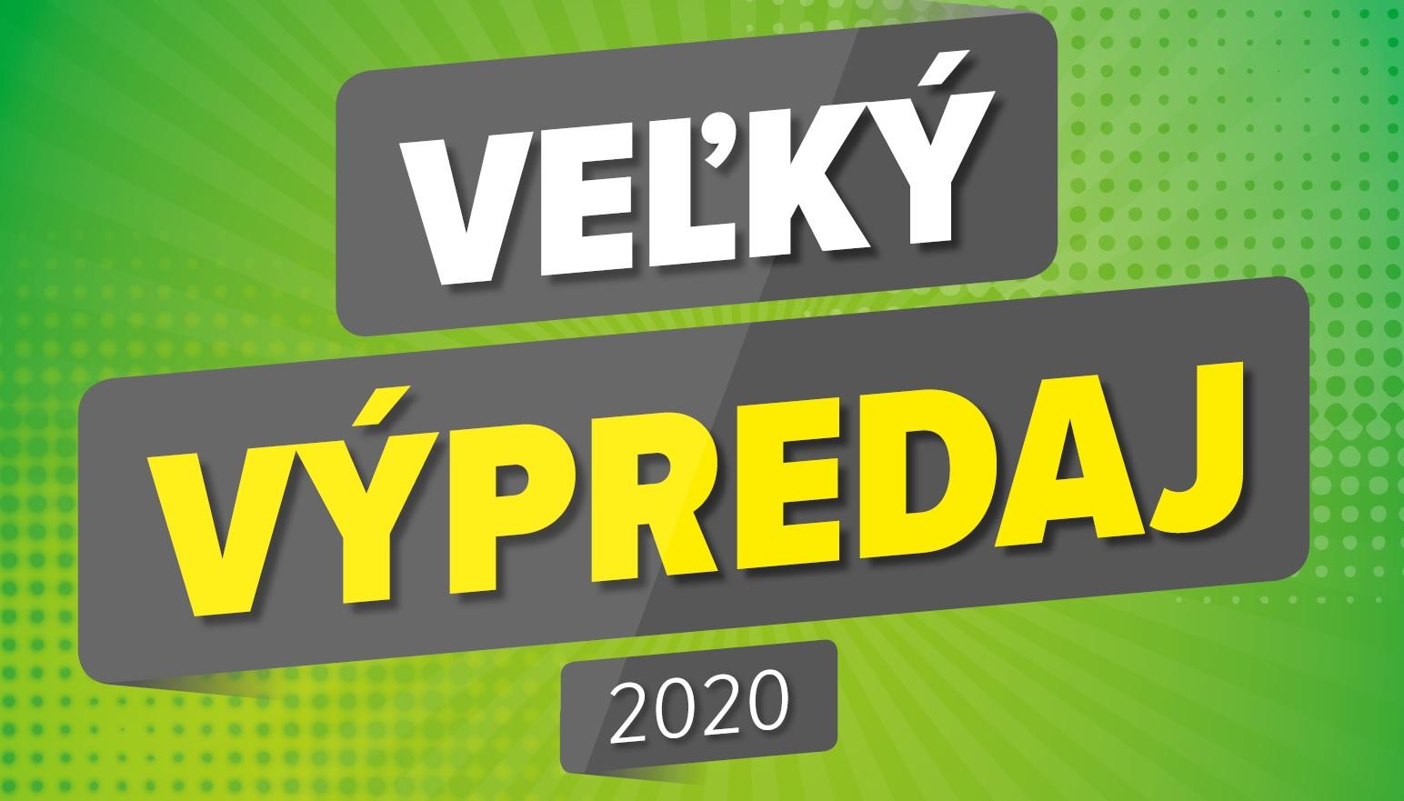 Výpredaj 2020
